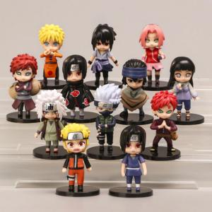 Kit com 12 Action Figure de Naruto 3