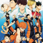 Logotipo do grupo de Haikyuu!!